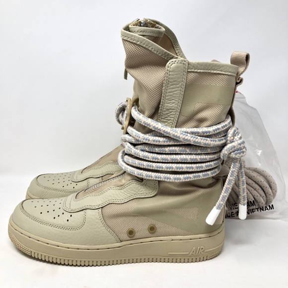 d3825fe7f0d Nike SF AF1 High Rattan Shoes Boots AA3965-200 NWT